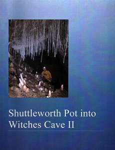 """""""Shuttleworth Pot to Witches Cave II"""" book cover"""